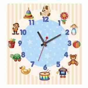 שעוני קיר מעוצבים לגני ילדים
