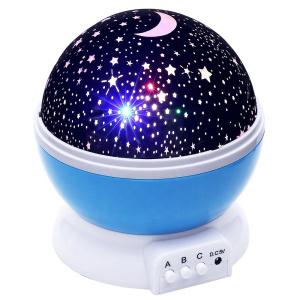 חדש! מנורת לילה לד כוכבים זוהרים